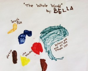 child's work image